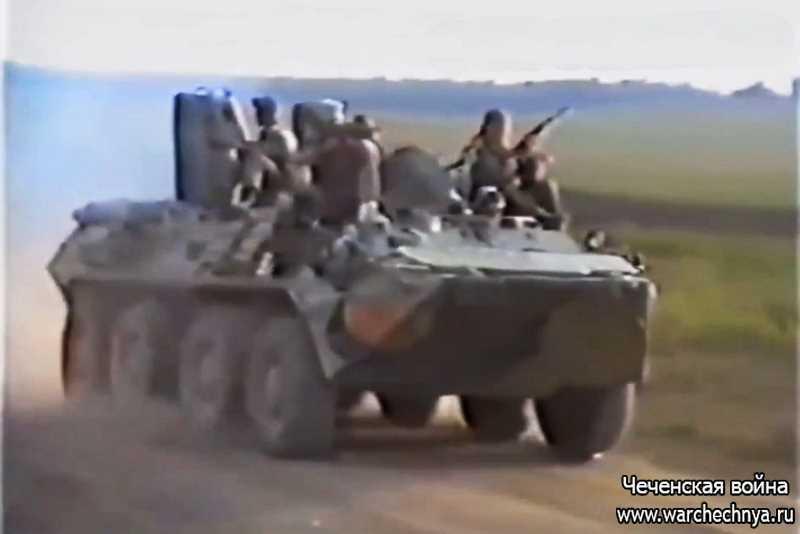 """Первая чеченская война. ГСН """"Аллигатор"""". 22 ОБрОН"""