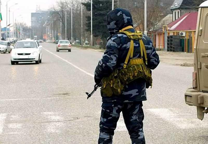 В Грозном женщина устроила взрыв в районе КПП