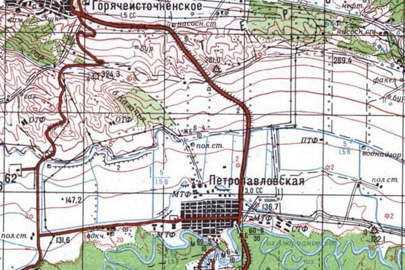 Первая чеченская война. 20 декабря 1994. Бои за станицу Петропавловскую