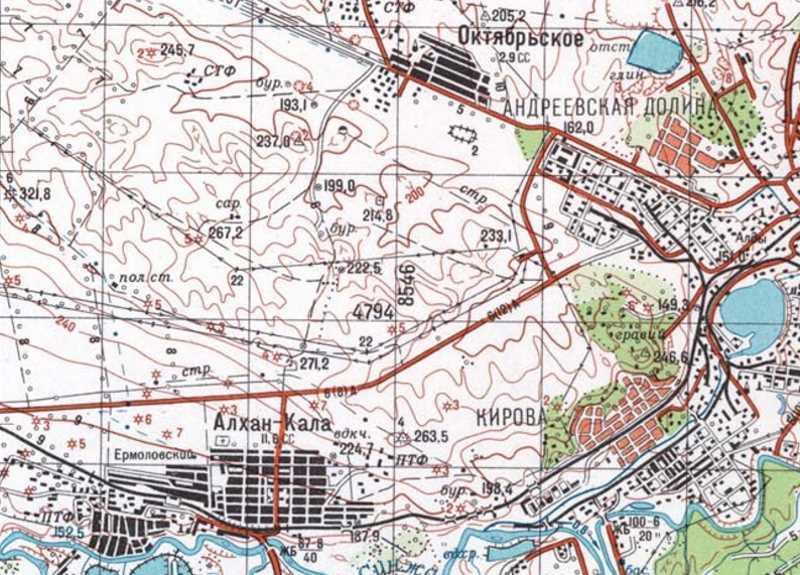 Первая чеченская война. 28 декабря 1994. Засада у н.п. Октябрьское