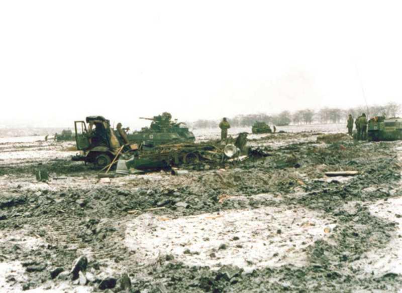 Первая чеченская война. 12 декабря 1994. Засада у пос. Долинский