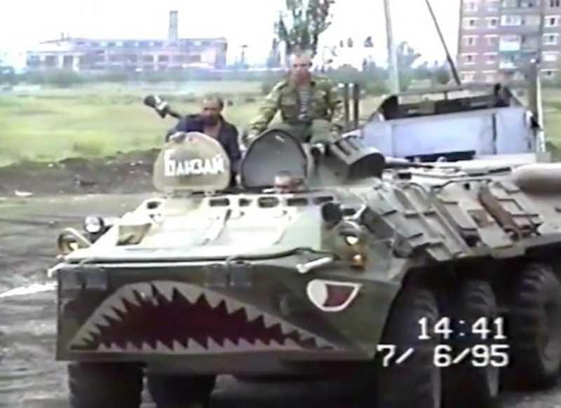 Первая чеченская война. Сводный отряд Архангельского СОБР в Чечне