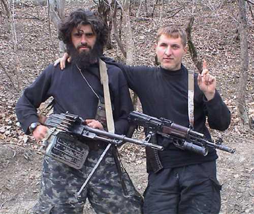 Чеченский полевой командир Абу-Бакар Висимбаев