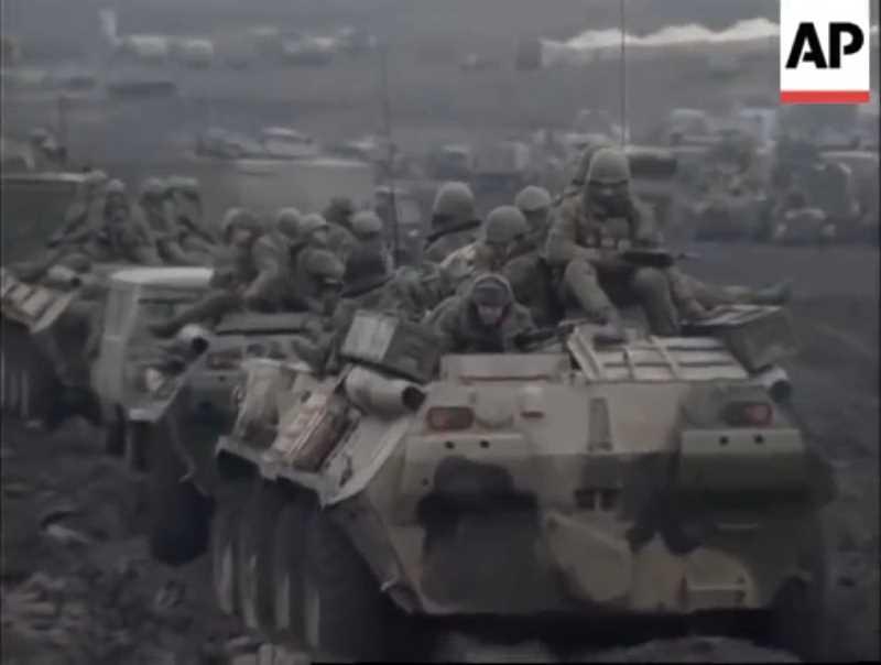 Первая чеченская война. Хроника федеральных войск и МВД