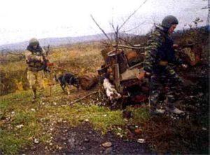 Вторая чеченская война. Работа саперов на войне