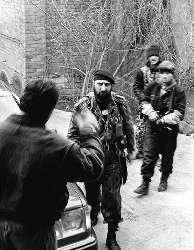 Руслан Лабазанов, февраль 1996.