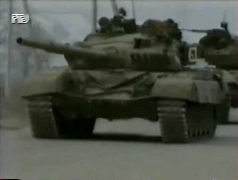 Первая чеченская война. Декабрь 1994. Первые боевые столкновения. Новости