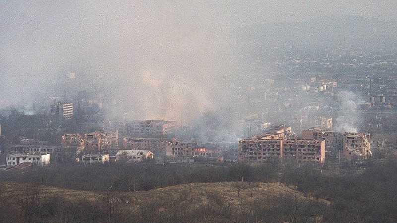 29 декабря 1999 года чеченские боевики взорвали в Грозном емкость с хлором и аммиаком