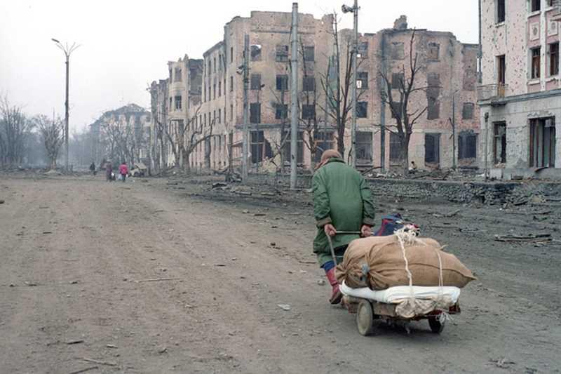 Первая чеченская война. Фото штурма Грозного