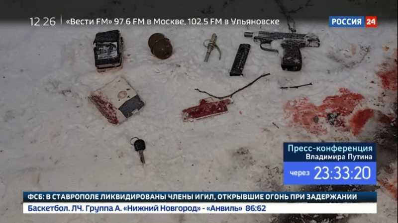 В Ставрополе во время боя уничтожена группа боевиков
