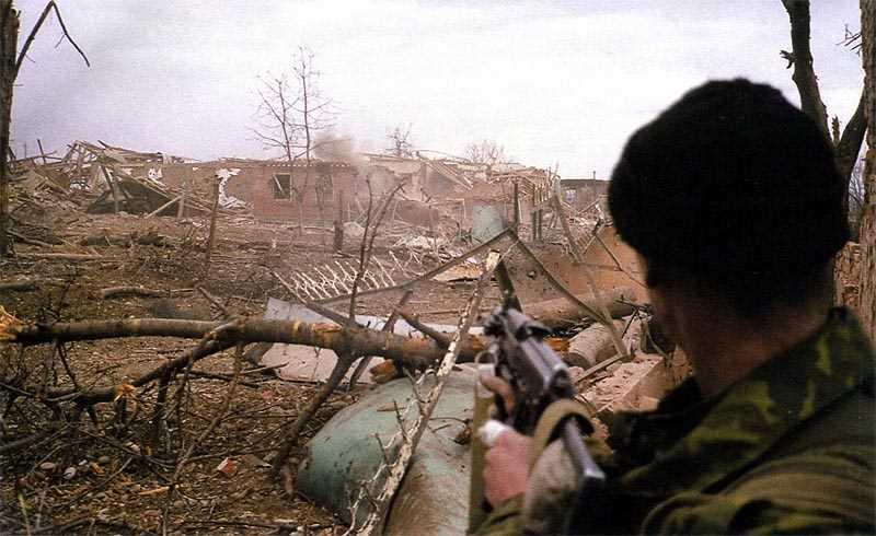 Бои за Комсомольское. Самое жестокое сражение второй чеченской войны