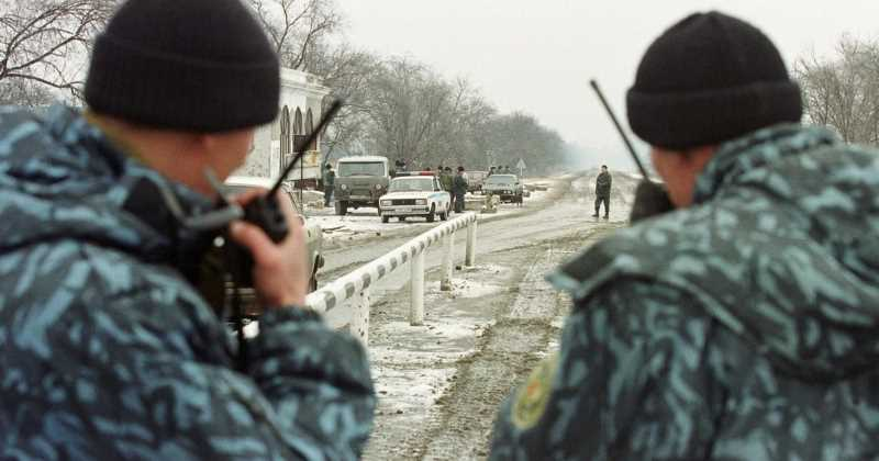 В Чечне обстрелян передвижной пост полиции