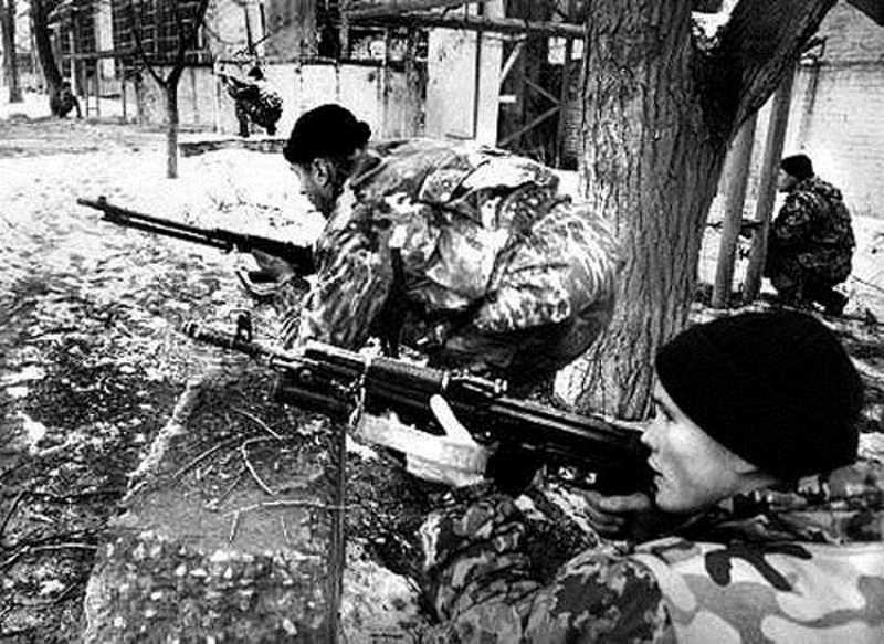 ДОН-100 на первой чеченской войне