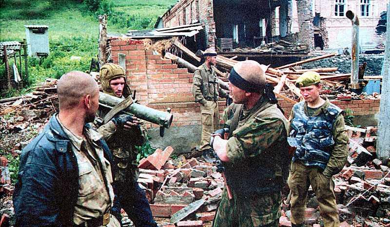 Первая чеченская война. От Самашек до Бачи-Юрта