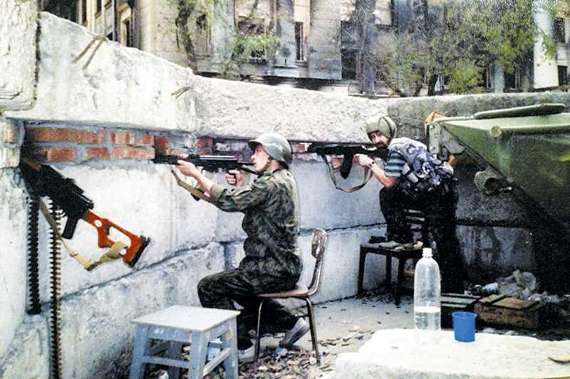 Рассказ офицера об обороне здания ФСБ во время первой чеченской войны