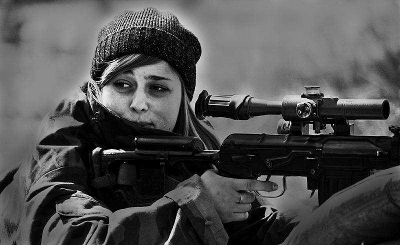 Несколько историй о чеченских снайпершах