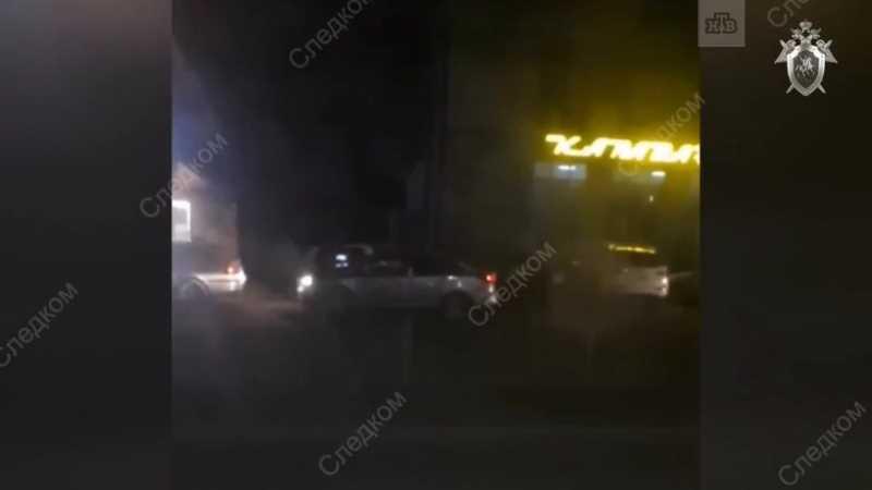 Неизвестные напали на полицейских в Нальчике
