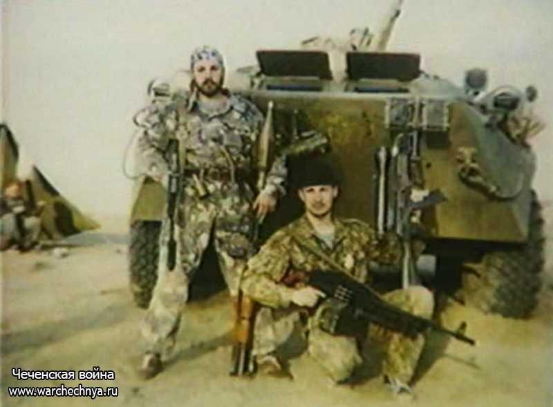 Курганский СОБР в мартовских боях за Грозный на первой чеченской войне