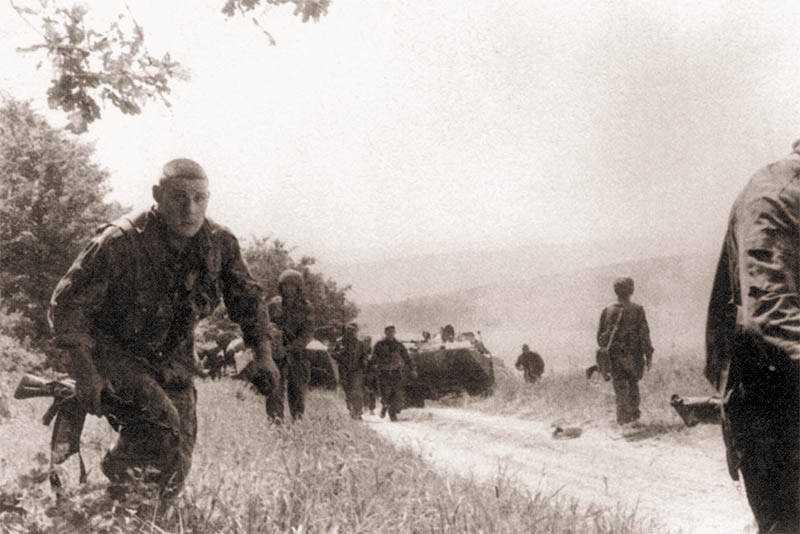 Воспоминания о первой чеченской войне бойца 276 МСП