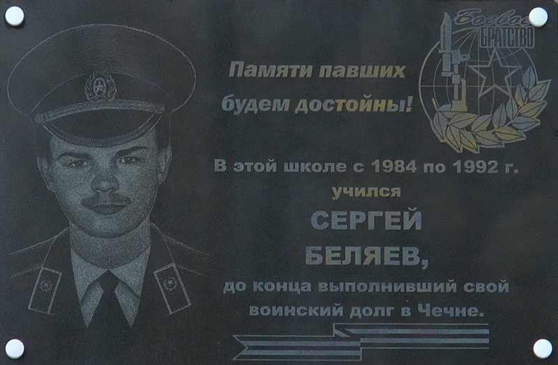 Сергей Викторович Беляев