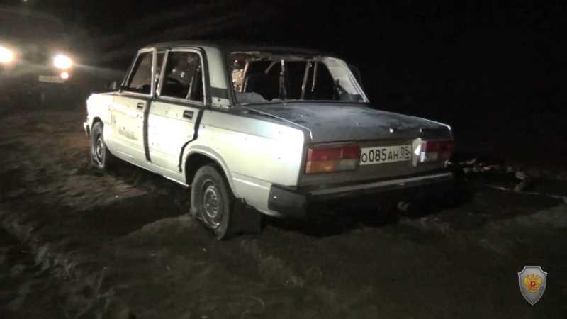 НАК опубликовал видео с места боя силовиков с боевиками в Дагестане