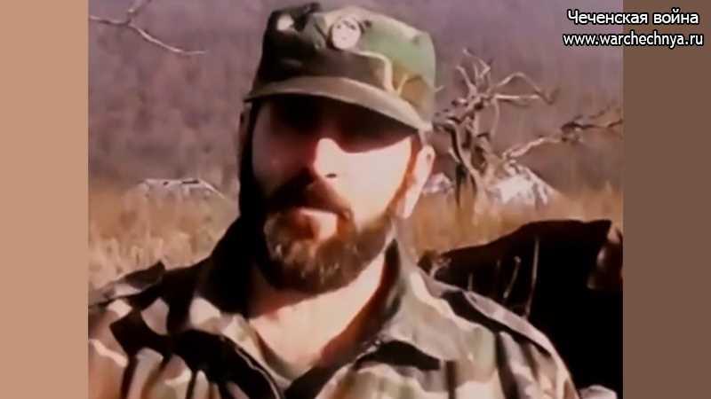 Чеченский полевой командир Руслан Хусенович Хайхороев