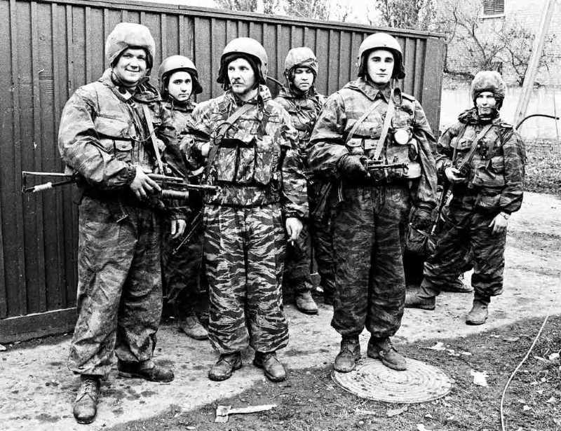 Первая чеченская война. Туман в Алдах