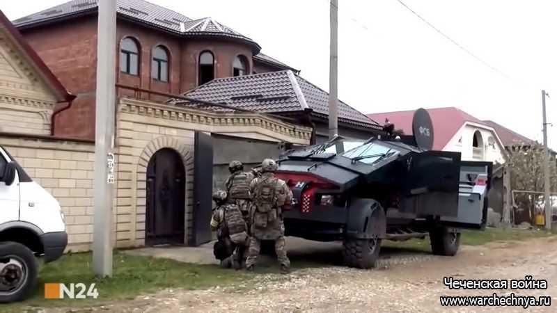 Документальный фильм о российском спецназе на Северном Кавказе