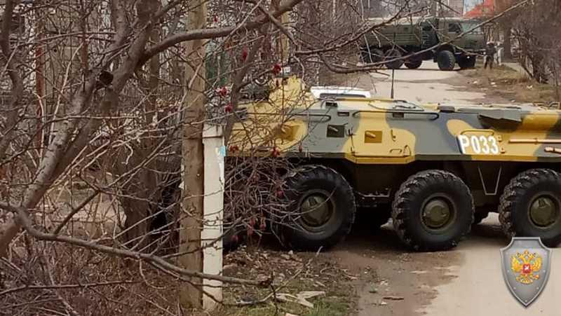 В Нальчике, в результате КТО, ликвидированы трое боевиков