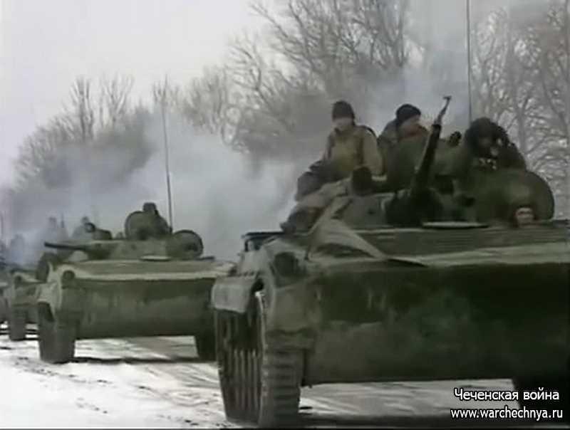 Первая чеченская война. Прорыв боевиков из села Первомайского
