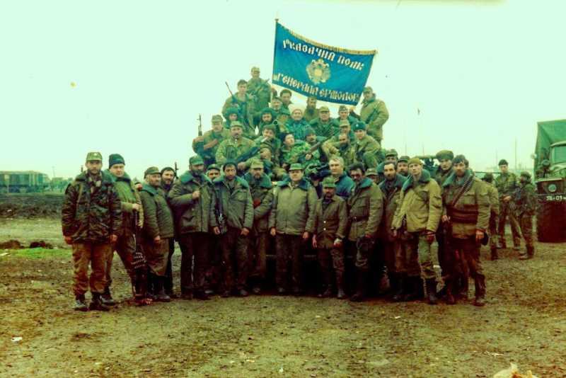 Герои первой чеченской войны. Батальон Ермолова