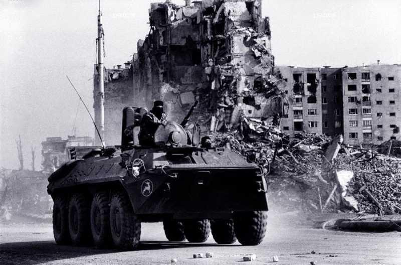 Первая чеченская война. Бои за освобождение Грозного в марте 1996 года