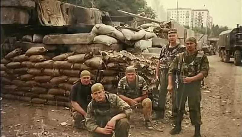 Первая чеченская война. Бои 34 ОБрОН в Грозном. 6 августа 1996 года