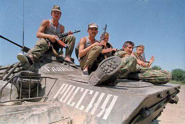 Контрактники на первой чеченской войне