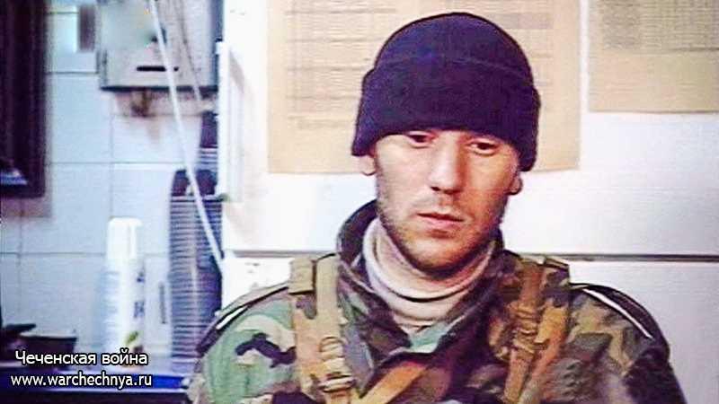 Чеченский полевой командир Мовсар Бухариевич Бараев