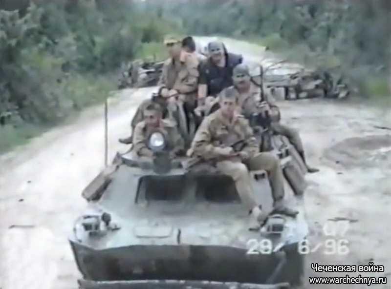 Первая чеченская война. 599 оперативный полк ВВ МВД России, в/ч 6556