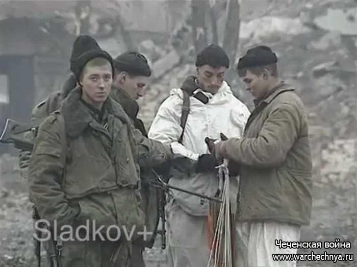 Вторая чеченская война. Грозный. Январь 2000 г.