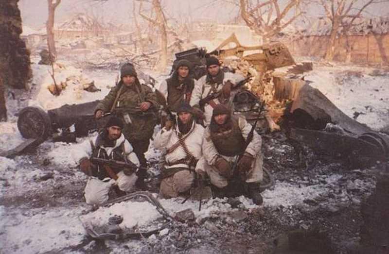 Воспоминания офицеров и солдат 245 МСП о подготовке к первой чеченской войне