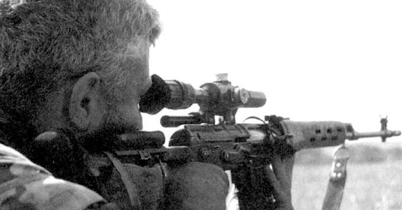 Первая чеченская война. Охота на ночного снайпера