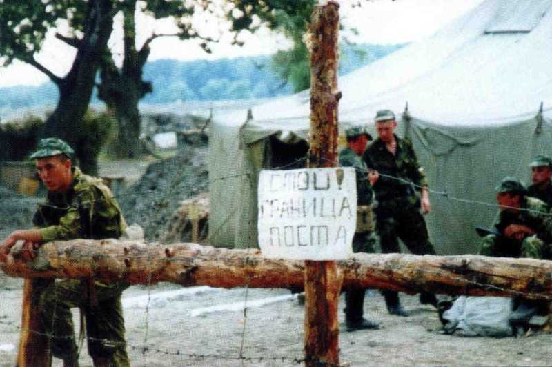 Внутренние войска на защите Дагестана перед второй чеченской войной