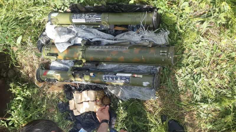 В Дагестане уничтожен схрон с оружием и боеприпасами