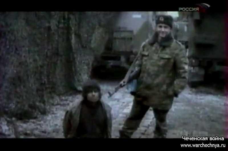 «Военная программа» А.Сладкова. Комсомольское. Март 2000 г.
