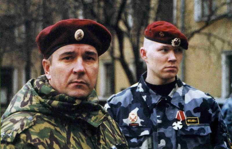 """Отряд специального назначения """"Русь"""" на первой чеченской войне"""
