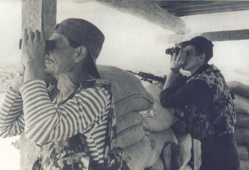 Валерий Горбань. Первая чеченская война. Индейцы