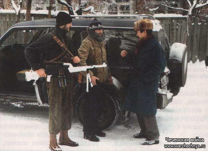 Первая чеченская война. Как воевали и собирались воевать чеченские ополченцы