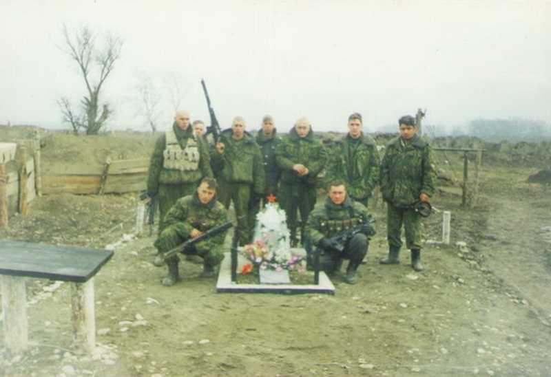 Вторая чеченская война. Бои у Гребенского моста