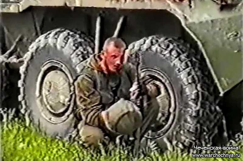 Неизвестные кадры второй чеченской войны