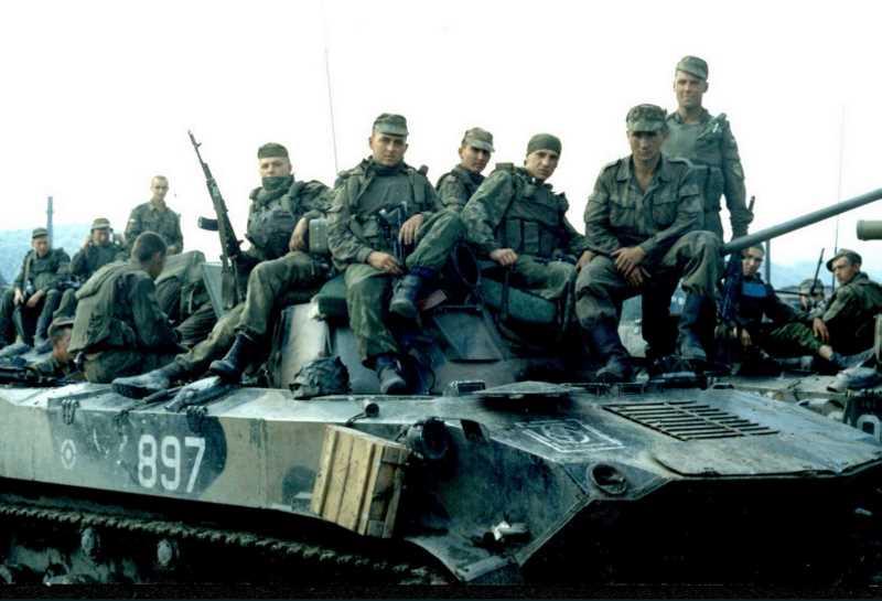 7 Новороссийская дивизия ВДВ в чеченских боях