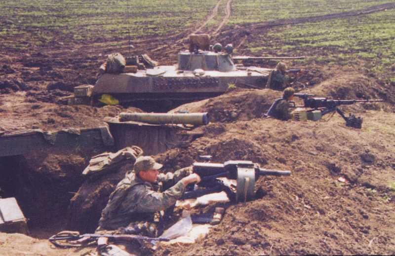 Вторая чеченская война. Зона ответственности ВДВ