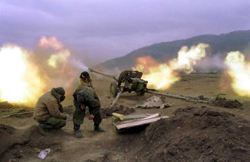 Артиллеристы на второй чеченской войне